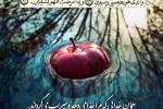 آیه قرآن: شفا از خداست (عکس نوشته)(سوره شعراء آیه 79 و 80)
