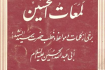 سخنان امام حسین علیه السلام: شعری از امام