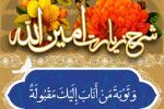 زیارت امین الله